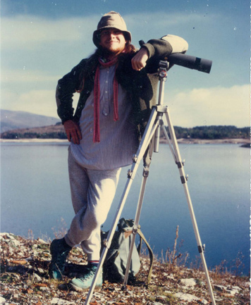 1989 – Ulibarri Ganboa, Alava (Basque Country). During the Winter Waterbird Count in this reservoir in Alava