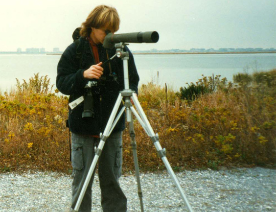 1997 – Jamaica Bay, New York. This was one of my first long birdwatching trips. My traveling passion for birdwatching started in these years