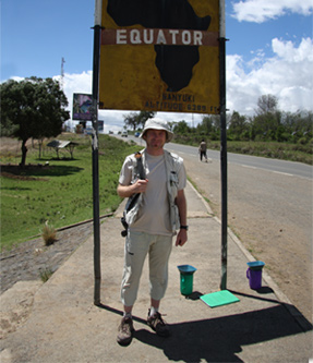 2009 – Nanyuki, Kenia. My first important Africa experience. It was not a birdwatching trip, but even so I manage to see hundreds of bird species