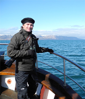 2012 – Húsavik, Iceland. Ready to see the enormous Blue Whale. Before this day this giant was to me a mythical creature, the largest animal even existed on Earth!